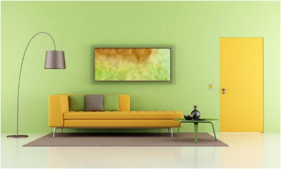 интериорна врата - боядисване