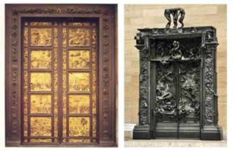 история на изработка на вратите