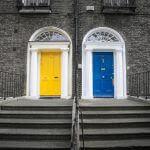 Цветът на входната врата показва какъв е характера Ви